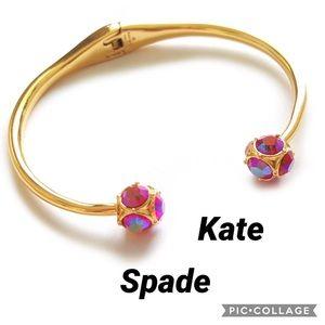 Kate spade lady marmalade Hinged Bangle